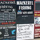 Mackerel Fishing by Lou Wilson