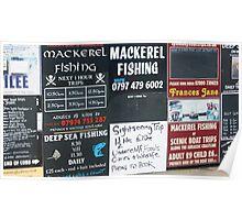 Mackerel Fishing Poster