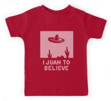 I Juan to Believe - Ugly Christmas Kids Tee