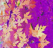 Abstract Autumn Nature by ninasilver