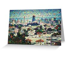 San Francisco Machine Dreams Greeting Card