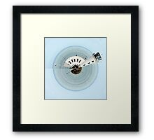 Lighthouse, Scarborough - small world image Framed Print