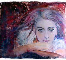 Violetas purple fear dream... by frithjof