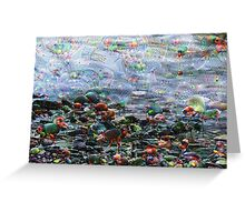 River Rocks Machine Dreams Greeting Card