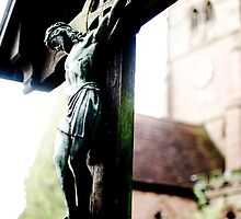 Crucifix at St Alphege Church in Solihull, UK by Andrew Robinson
