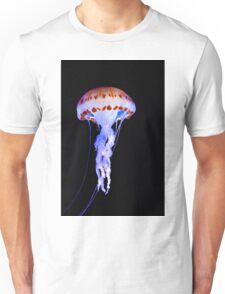 Purple Striped Jellyfish (Chrysaora colorata) Unisex T-Shirt