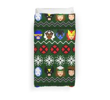 Ugly Christmas Sweater - X-Men Duvet Cover