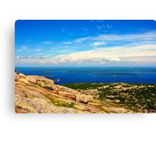 Cadillac Mountain, Acadia National Park, Maine Canvas Print