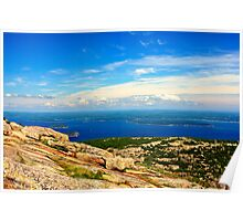 Cadillac Mountain, Acadia National Park, Maine Poster