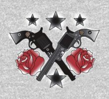Roses and Guns by Warlock85