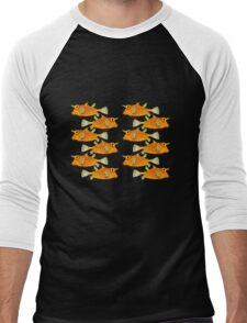 many fish [zip split) Men's Baseball ¾ T-Shirt