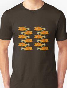 many fish [zip split) Unisex T-Shirt