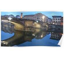 Florentine Reflections Poster