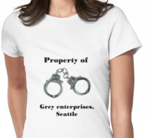 Property of Mr Grey Womens Fitted T-Shirt