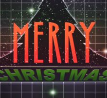 Have A Very Merry 80s Christmas Sticker