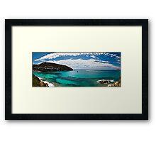 Pano from ELP PORTET Framed Print