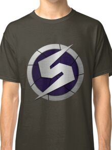 Purple Metroid Logo (Gravity Suit) Classic T-Shirt