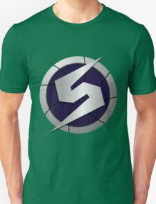 Purple Metroid Logo (Gravity Suit) Unisex T-Shirt
