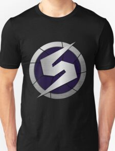 Purple Metroid Logo (Gravity Suit) Unisex T-Shirt
