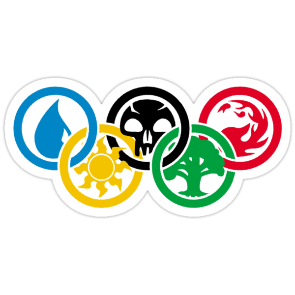 Magic the Gathering Olympics by Giii