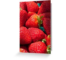 Strawberries iphone forever... Greeting Card