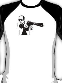 Hunter S Thompson - Gun T-Shirt