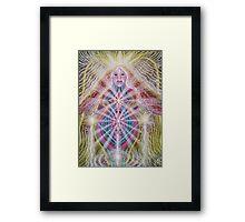 RADIANCE- Angel of the Inner Light Framed Print