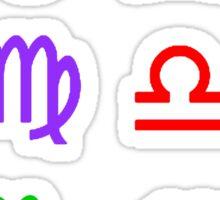 Rainbow Zodiacs Sticker