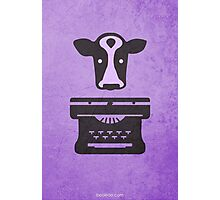 Click, Clack, Moo w/o Title Photographic Print