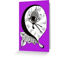The Time Melts When I Watch – 2011 Greeting Card