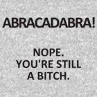 Abracadabra!  by Swenschi
