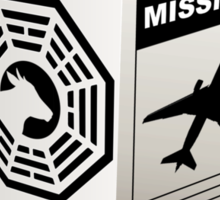 Lost - Dharma Initiative Milk Carton Sticker