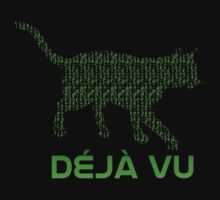 The Matrix - Deja Vu Cat by metacortex