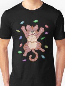 Kitty Heaven Brown Fur  T-Shirt
