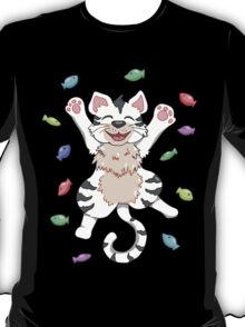 Kitty Heaven White Fur  T-Shirt