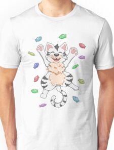 Kitty Heaven White Fur  Unisex T-Shirt