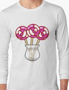 Lollipop Swirl Jar  Long Sleeve T-Shirt