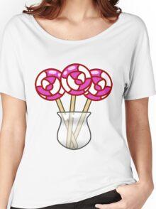 Lollipop Swirl Jar  Women's Relaxed Fit T-Shirt
