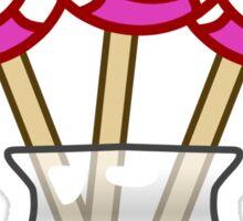 Lollipop Swirl Jar  Sticker