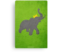 The Story of Babar w/o Title Canvas Print