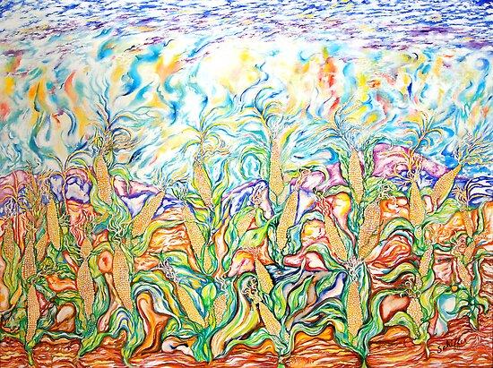 The Corn Fields by tutuzi22