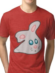 Bunny Rabbit Blob  Tri-blend T-Shirt
