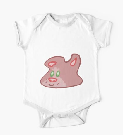 Guinea Pig Blob  One Piece - Short Sleeve