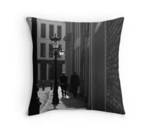 Two Gentlemen Throw Pillow