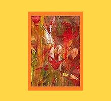 JWFrench Collection Marbled Card 16 by JWFrench