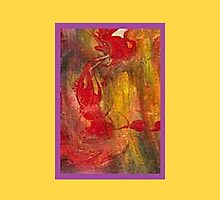 JWFrench Collection Marbled Card 17 by JWFrench