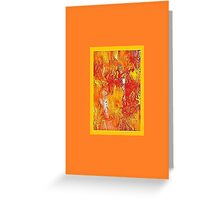 JWFrench Collection Marbled Card 18 Greeting Card