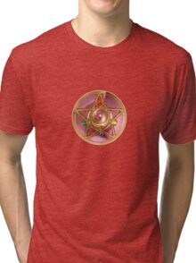 Sailor Moon's Crystal Star Compact Tri-blend T-Shirt
