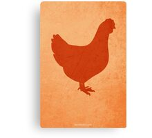 The Little Red Hen w/o Title Canvas Print
