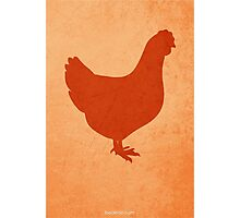 The Little Red Hen w/o Title Photographic Print